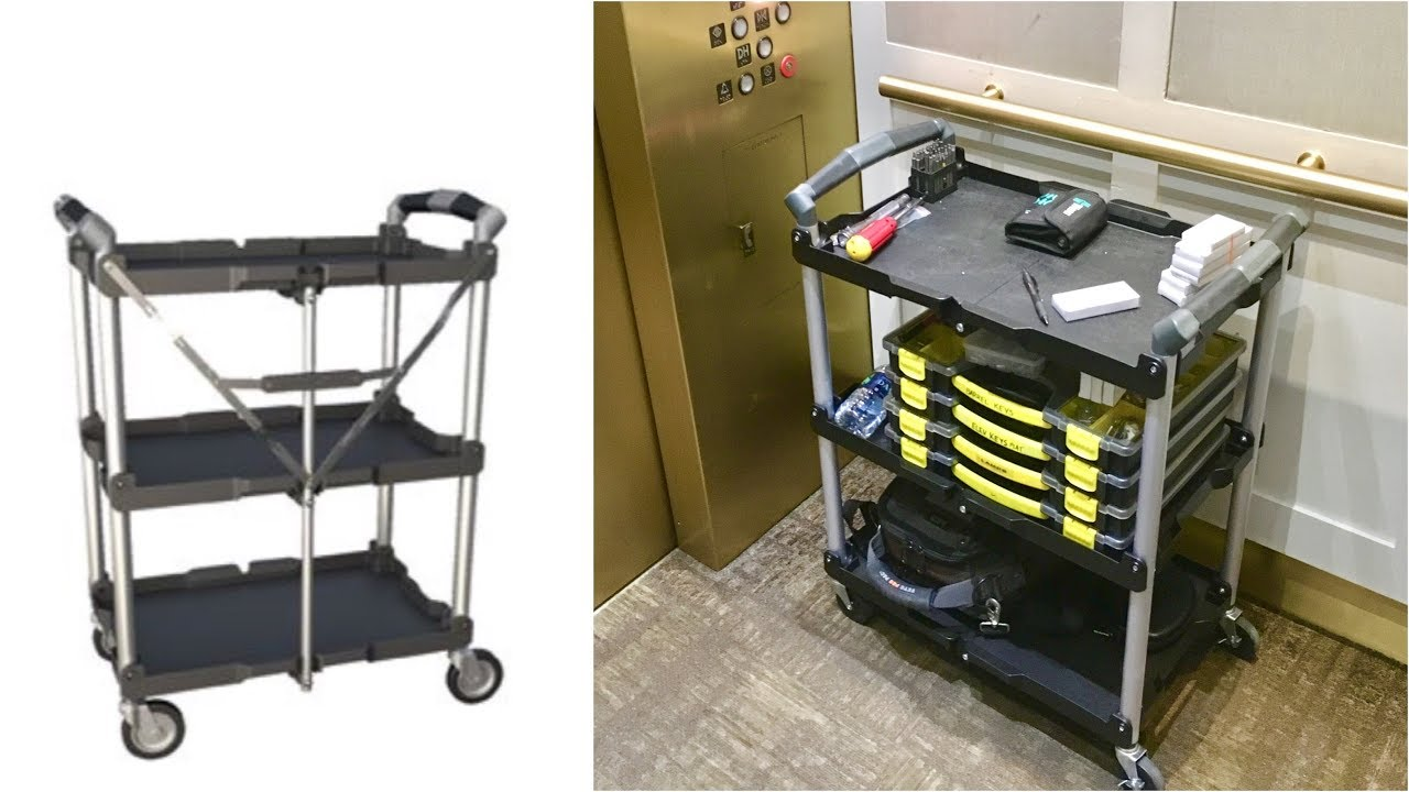 Best Portable Folding Utility Cart For Elevator Industry