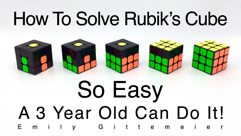 How to solve Rubik's Cube Step by Step Tutorial