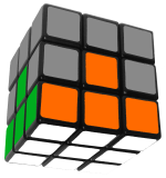 How To Solve Rubik's Cube First Layer