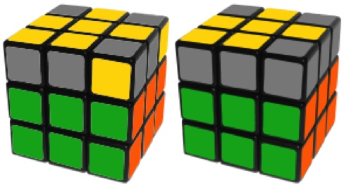 Rubik's Cube Fish Pattern Algorithms: Big Fish & Little Fish