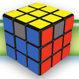 Rubik's Cube Solve Last Layer: Edges