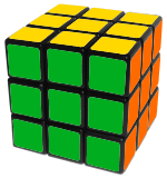 Learn how to solve Rubik's Cube final step