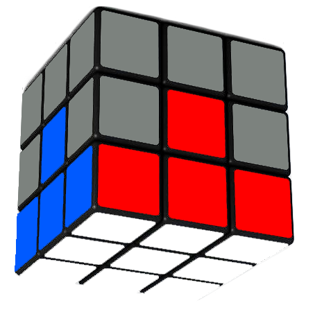 Rubik's Cube First Layer Solved