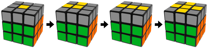 Rubik's Cube Yellow Cross Algorithm