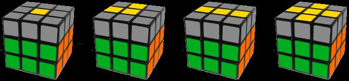 Rubik's Cube Yellow Cross Algorithm