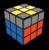 Rubik's Cube Last Layer Yellow Cross