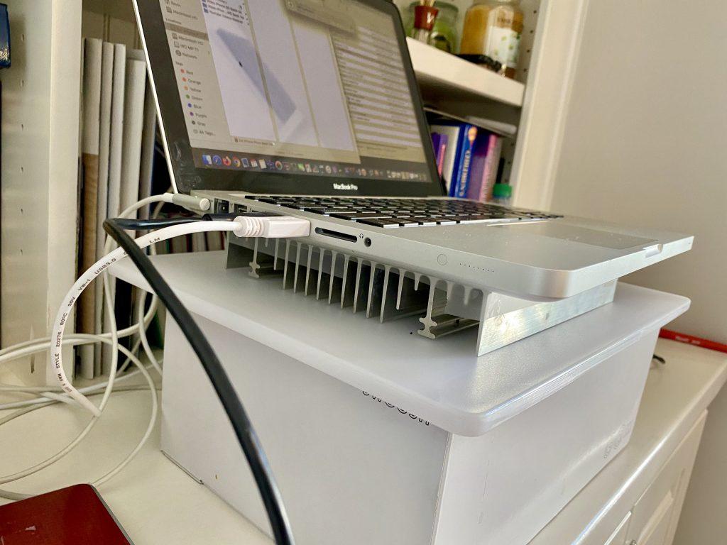 Laptop Heat-Sink