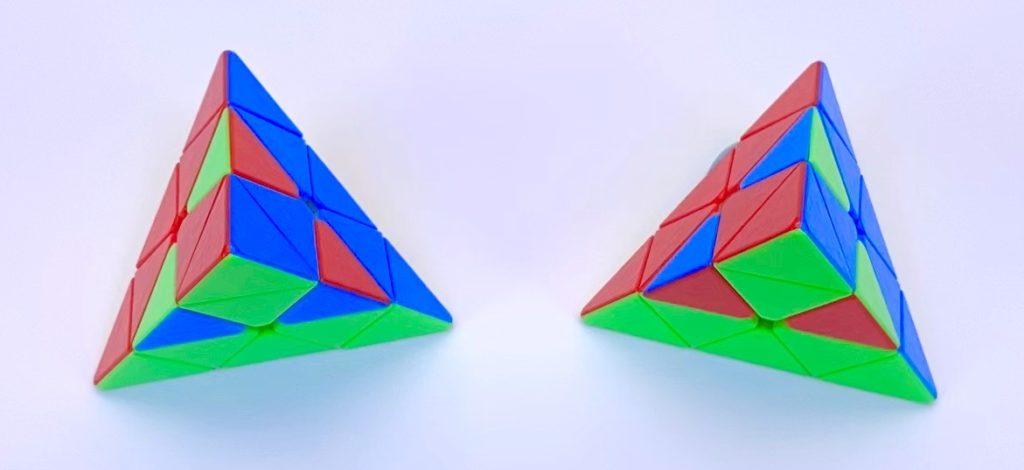 Pyraminx Last Layer Case-2 Case-3