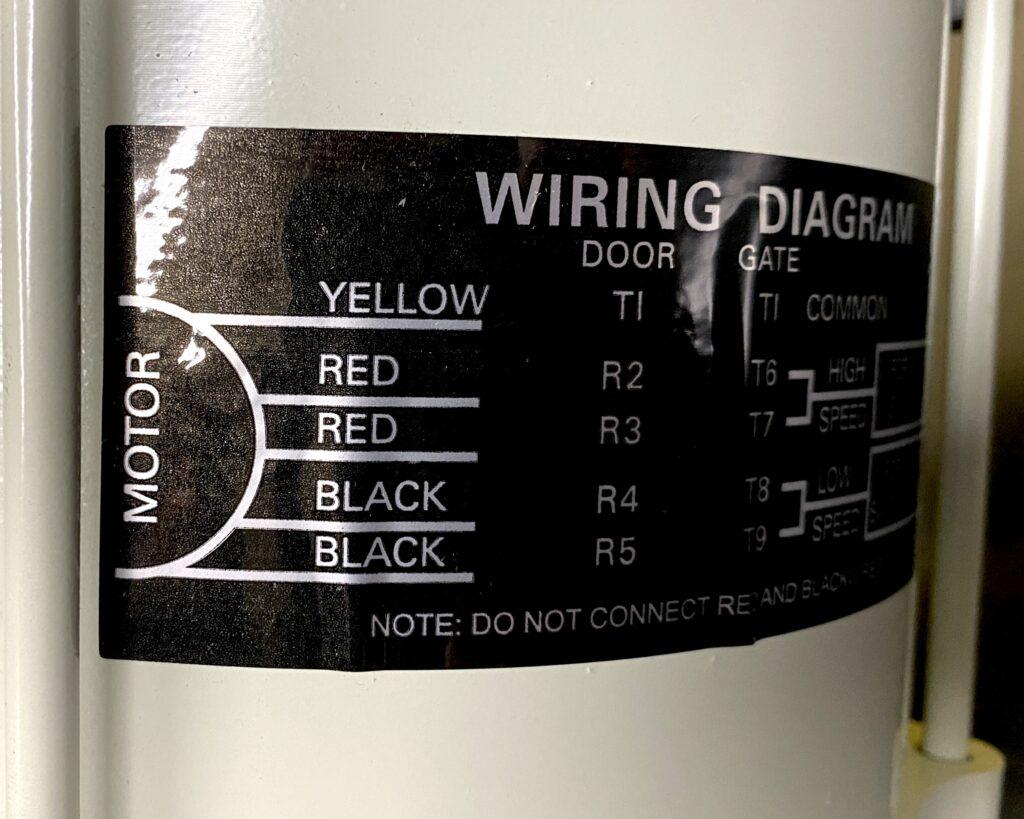 Peelle Motor Wiring Diagram